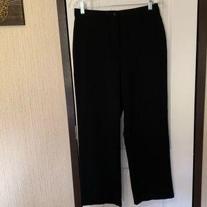 Pantology black dress pants wide leg high waist